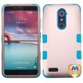 ZTE Grand X Max 2 Rose Gold/Tropical Teal Hybrid Case