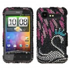 HTC Droid Incredible 2 Swan Diamante Case
