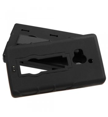 Coolpad Rogue Black/Black Symbiosis Stand Case