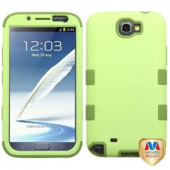 Samsung Galaxy Note 2 Green Tea/Olive Green Hybrid Case