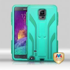 Samsung Galaxy Note 4 Natural Baby Green/Forest Green Extreme Hybrid Case