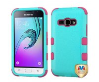 Natural Teal Green/Electric Pink TUFF Hybrid Phone Protector Cover