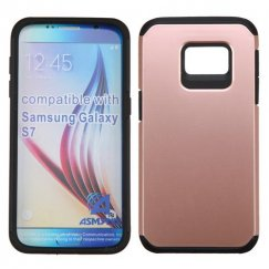 Samsung Galaxy S7 Rose Gold/Black Astronoot Case
