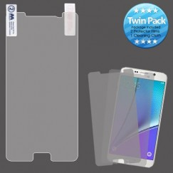 Samsung Galaxy Note 5 Screen Protector Twin Pack