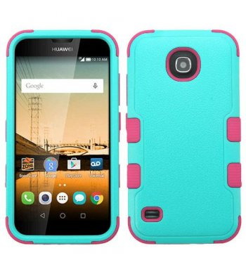 Huawei Union Y538 Natural Teal Green/Electric Pink Hybrid Case