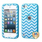 Apple iPod Touch (5th Generation) Blue Wave/Tropical Teal Hybrid Case