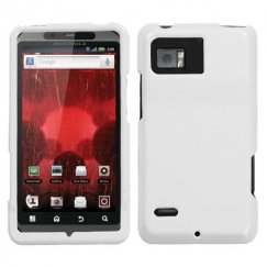 Motorola Droid Bionic Solid Ivory White Case