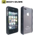 Body Glove Fringe Snap On Cover for iPhone 4 in Black/Clear