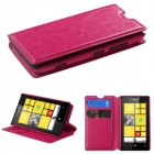 Nokia Lumia 520 Hot Pink Wallet with Tray