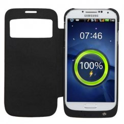 Samsung Galaxy S4 3200 mAh Black Quantum Energy Battery Case with window
