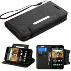 Alcatel One Touch Conquest Black Wallet