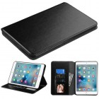 AppleiPad Mini 4th Gen Black Wallet with Tray