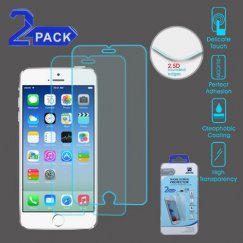 Apple iPhone 6/6s Tempered Glass Screen Protector - 2-pack