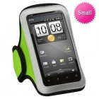 Vertical Pouch Universal Light Green Sport Armband(Score)