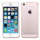 Apple iPhone 5/5s Glossy Transparent Rose Gold Candy Skin Cover