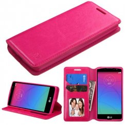LG Escape 2 Hot Pink Wallet with Tray