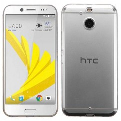 HTC Bolt Glossy Transparent Clear Candy Skin Cover