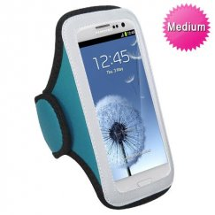 Vertical Pouch Universal Baby Blue Sport Armband
