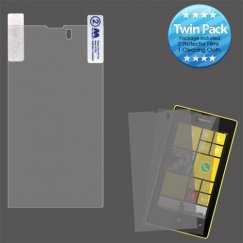 Nokia Lumia 520 Screen Protector Twin Pack