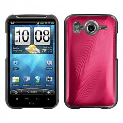 HTC Inspire 4G Red Cosmo Back Case