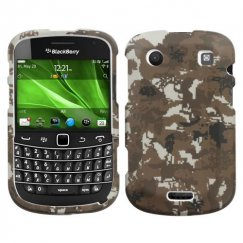 Blackberry Bold 9930 Lizzo Digital Camo/Yellow Case