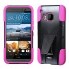 HTC One M9 Hot Pink Inverse Advanced Armor Stand Case