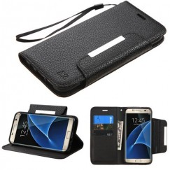 Samsung Galaxy S7 Edge Black Wallet