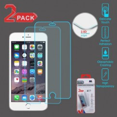 Apple iPhone 6/6s Plus Tempered Glass Screen Protector - 2-pack