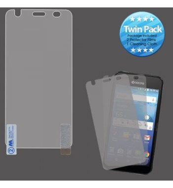 Kyocera Wave / Hydro Air Screen Protector Twin Pack