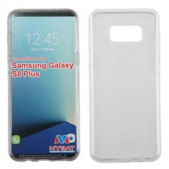 Samsung Galaxy S8 Plus Glossy Transparent Clear Candy Skin Cover