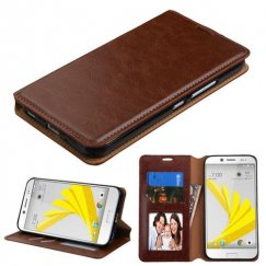 HTC Bolt Brown Wallet with Tray