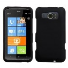 HTC Titan II Black Phone Protector Cover(Rubberized)