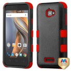 Coolpad Catalyst Natural Black/Red Hybrid Phone Protector Cover