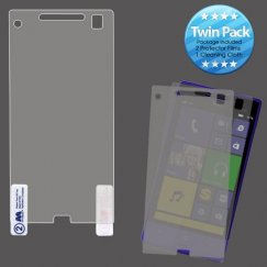 HTC Windows Phone 8x Screen Protector Twin Pack