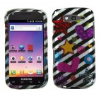 Samsung Galaxy S Blaze 4G SGH-T769 Color Heart 2D Silver Case