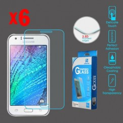 Samsung Galaxy J7 Tempered Glass Screen Protector - 6-pack