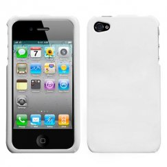 Apple iPhone 4/4s Solid Ivory White Case