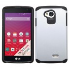 LG Tribute Silver/Black Astronoot Phone Protector Cover