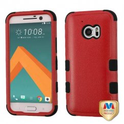 HTC 10 Natural Red/Black Hybrid Case
