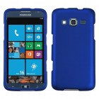 Samsung Ativ S Neo SPH-I800 Titanium Solid Dark Blue Phone Protector Cover