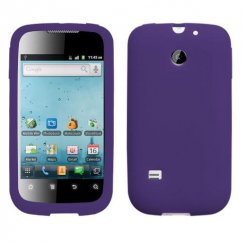 Huawei Ascend II / Prism / Summit Solid Skin Cover - Purple