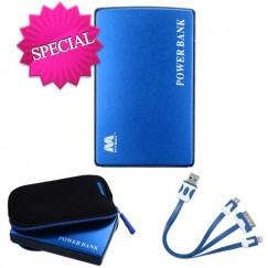 Blue Li-ion Power Bank (11000 mAh)