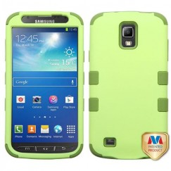 Samsung Galaxy S4 Active SGH-i537 Green Tea/Olive Green Hybrid Case