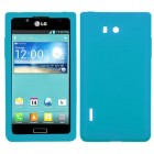 LG Splendor / Venice Solid Skin Cover - Tropical Teal