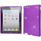 Apple iPad 2 Premium Full Cover Case, Purple Diamonds