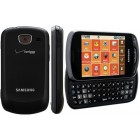 Samsung Brightside SCH-U380 QWERTY Messaging Phone for Verizon - Metallic Black