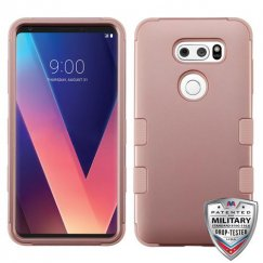 LG V30 Rose Gold/Rose Gold Hybrid Case Military Grade