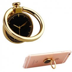 Stand-Gold Watch Metal Ring Stand