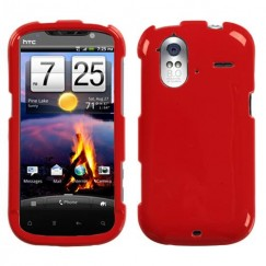 HTC Amaze 4G Solid Flaming Red Case