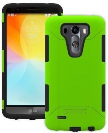 LG G3 Vigor/Mini Trident Aegis Series Case - Green/Black
